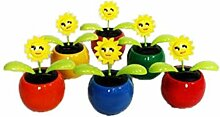 HAAC 2er Set Solar Wackelblume Blume Sonne