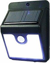 HAAC 8 LED Solar Lampen Wandlampe mit