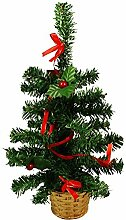 HAAC künstlicher Weihnachtsbaum Farbe grün 36 cm