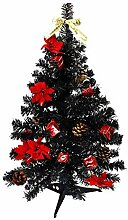 HAAC künstlicher Weihnachtsbaum Farbe Schwarz 60