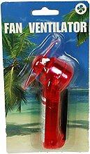 HAAC Mini Ventilator Handventilator mit Umhängeband Größe 12 cm