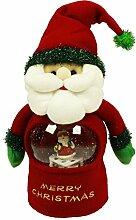 HAAC Singende Weihnachtsfigur Weihnachtsmann mit