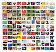 HAB & GUT (DV005) Duschvorhang / Bildervorhang mit