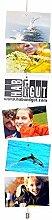 HAB & GUT -MC001- Fotoseil, Magnetseil 200 cm, 12