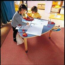 HABA 2891 Spieltisch Birkensperrholz Buche Massiv, 94 x 46-54 cm, natur