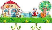 HABA Garderobe Bauernhof, Kindergarderobe,