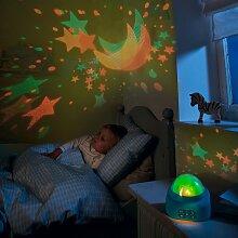 Haba LED-Nachtlicht mit Deckenprojektor und Musik