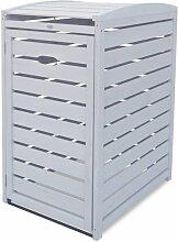 Habau Mülltonnenbox 120 + 240 Liter Holz