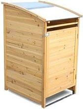 HABAU Mülltonnenbox 120 Liter (natur)