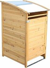 Habau Mülltonnenbox 240 Liter Spießtanne/Blech