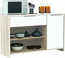 habeig AKAZIE-Weiss Küchenschrank #228 Schrank