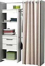 habeig Begehbarer Kleiderschrank #245325 Vorhang