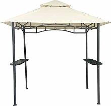 habeig Grillpavillon Wasserdicht 310g/m² PVC Dach