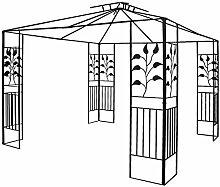 habeig Pavillongestell Metalll Pavillon 3x3m