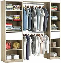 habeig RIESIGER Kleiderschrank #5077 begehbar