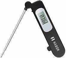 Habor Kuechen Digital LCD, Lebensmittel Sonde Thermometer