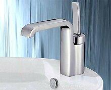 HAC24 Stilvoll Elegante Bad Armatur | Design Einhandmischer | Bad Wasserhahn