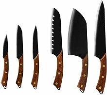 Hackmesser Küchenchef Messer Set 8 ''
