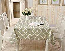 HACLJPP Cotton Tischdecke, Klammern Tischdecken,