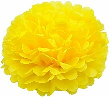 Hacoly 5er Papier Blume Ball Schaumblume Party