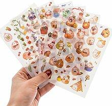 Hacoly 6pcs kinder Sticker bomb 3D Süß Rabbit