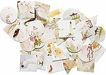 Hacoly Aufkleber DIY Scrapbooking Deko Sticker