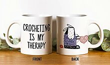 Häkeln ist meine Therapie-Tasse