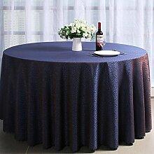 Häkeln Jacquard Stoff, Hotel, Restaurant, runde Tischdecke, Europäische Rundtischdecke , #1 , 220cm