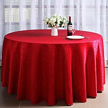 Häkeln, Jacquard-Stoff, Hotel, Restaurant, runde Tischdecke, Europäische Rundtischdecke , #1 , 180cm