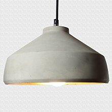 Hänge-Lampe Moderne für Wohnzimmer Küche Restaurant | Pendelleuchte Esstisch in Grau und Kupfer | E27-Fassung | Pendel-Lampe Vintage Design Beleuchtung Esszimmer