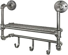 Hängegarderobe im Industriedesign Metall