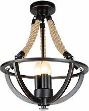 Hängelampe Vintage Seilampe Pendelleuchte