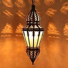 Hängeleuchte Deckenlampe Hänge Lampe Orientalisch Nura Weiß
