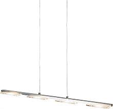 Hängeleuchte Stahl und Kunststoff inkl. LED mit