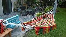 Hängematte in Handarbeit doppelt Größe von den Inkas Design Fair Trade Canaval