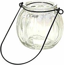 Hängen Kürbis Glasvase Pflanze Hydroponischen Topf Flasche Terrarium Behälter