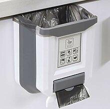 Hängende Design, Falten Küche Mülleimer Tür,