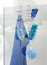 Hängende Duschablage aus Edelstahl Wenko