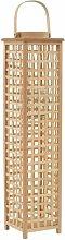Hängende Holzlaterne Sansibar Home Größe: 84cm
