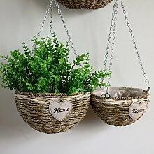 hängenden Pflanzgefäße für