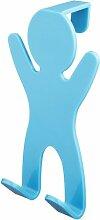 Hängender Handtuchhaken ClearAmbient Farbe: Blau