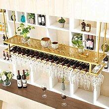 Hängender WeinglashalterAnstellbare Höhe