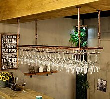 Hängendes Weinregal Modernes einfaches