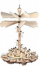 Hängepyramide mit Engelorchester - 54cm - Dregeno