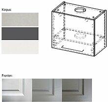 Hängeschrank 161347 Küchenschrank Umbauschrank für Dunstabzugshaube 60cm Korpus- & Front wählbar (EB-W8/60)