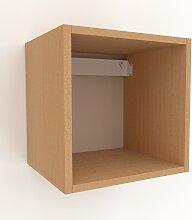 Hängeschrank Buche, Holz - Moderner Wandschrank: