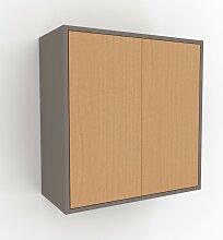 Hängeschrank Buche - Moderner Wandschrank: Türen