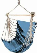 Hängesitz Fashion aqua Baumwolle 85 x 160 cm Tragfähigkeit 110kg