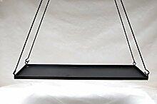 Hängetablett eckig Tablett Kerzentablett Landhausstil Ziertablett Landhaus Deko Schwebetable