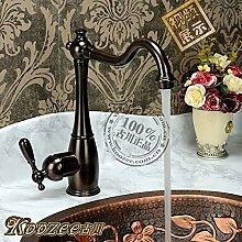 Haer Continental antike Küche Wasserhahn,Braun